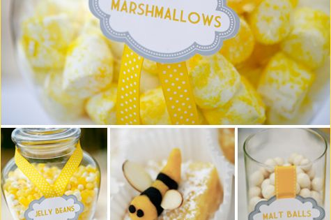 REAL PARTIES: B is for Baby Shower | Bees, Bee theme and ...