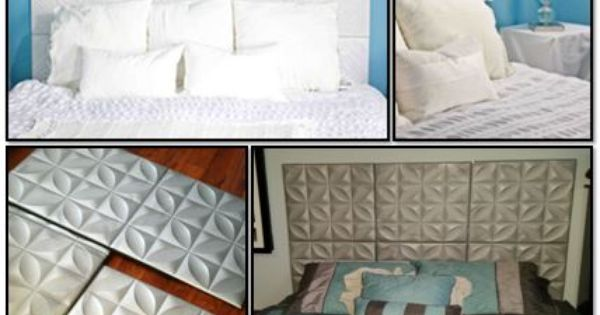 Headboards to the wall and the wall on pinterest