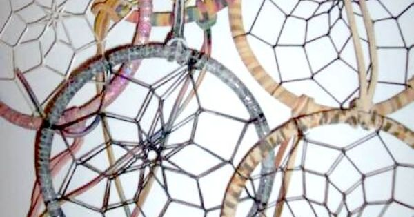 making a dreamcatcher might be a fun summer craft