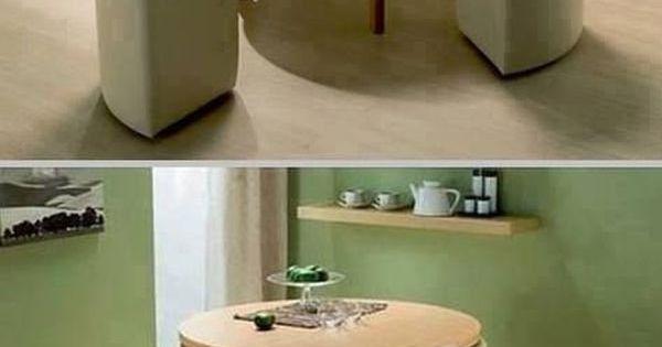 Los 8 mejores muebles multifuncionales para un hogar - Muebles para comedor pequeno ...
