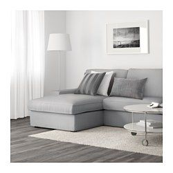 Kivik Sectional 4 Seat With Chaise Orrsta Light Gray Ikea Kivik Sofa Small Sectional Sofa Sectional Sofa