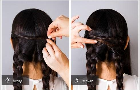 Hair tips and ideas :DIY Braided Hair: DIY braid hairstyle