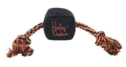 Harley Davidson Plush Rope Tug Toy Cube Visit The Image Link