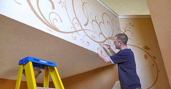 Tole painting painting commercial painting for Commercial mural painting