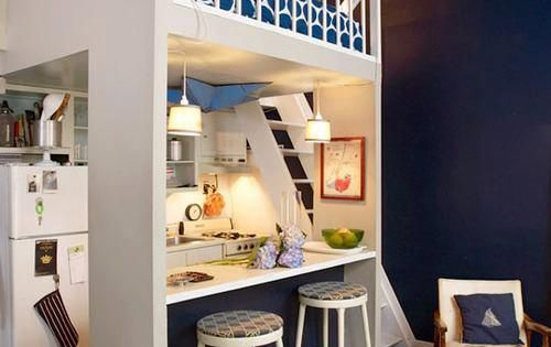 Apartment therapy 39 s big book of small cool spaces for Small kitchen ideas apartment therapy