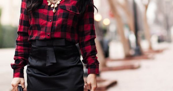 cute & little blog | dressing up buffalo plaid | buffalo plaid