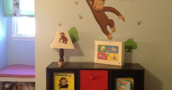 Curious George Wall Decor And Monkey On Pinterest