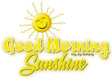 Good Morning Sunshine Animated : Lady jam good morning beautiful animated mornings