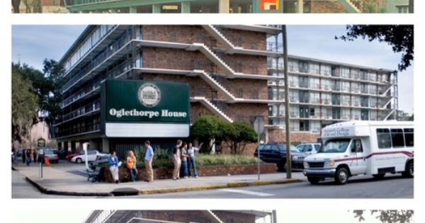 Oglethorpe House Aka O House Over The Years Downtowner Motor Inn Photo Courtesy Of Jen