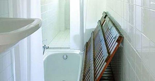 Idea genial soterrar la ba era en un cuarto de ba o - Baneras para banos pequenos ...