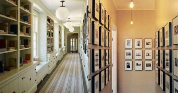 A decorar los pasillos house - Decoracion de pasillos estrechos ...