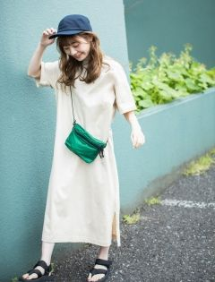 Women Mercerized Cotton Short Sleeve Long Dress Long Sleeve Short Dress Maxi Tee Dress Long Dress