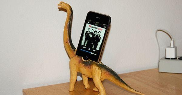 Ahahaha!! Looking through google for cool phone docks. Genius DIY project! Home