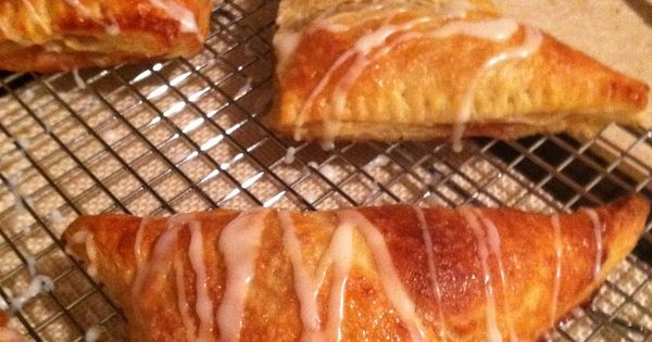 Apple turnovers, Super simple and Cherry turnovers on Pinterest