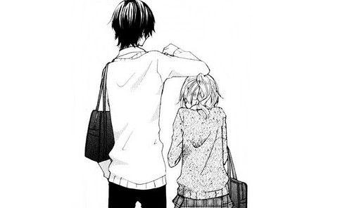 Pin By Smol Waifu On Anime Manga Tall Boy Short Girl Tall Boyfriend Short Girlfriend Short Girls
