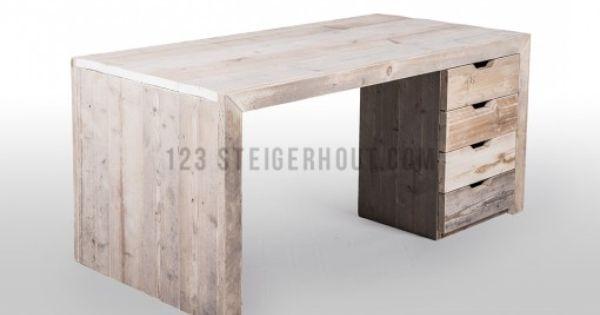 Kinderslaapkamer Kast : Steigerhouten-Bureau-123steigerhout-1 Project ...