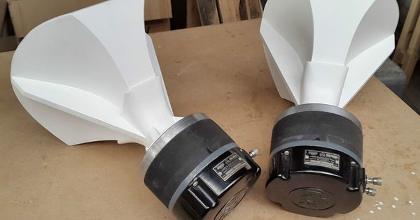 RCA MI9458 Compression Drivers + Original Radial Horns by ... Horns