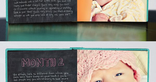 8 Best Monthly Baby Photo Ideas - Monthly Photo Book