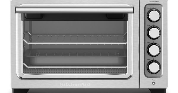 Kitchenaid Refurbished Compact Oven Stainless Steel Silver Rkco253ss Countertop Oven Compact Oven Convection Toaster Oven