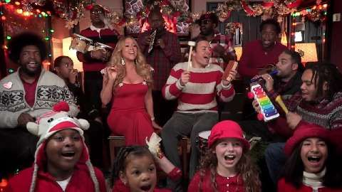 Mariah Carey Spends Thanksgiving With Ex Nick Cannon And Children Mariah Carey Mariah Carey Singing Jimmy Fallon