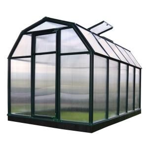 Rion Eco Grow Twin Wall 6 Ft X 10 Ft Greenhouse 702468 The Home Depot Polycarbonate Greenhouse Greenhouse Polycarbonate Roof Panels