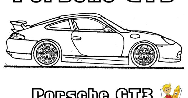 Porsche GT3 Car Coloring Pages You Can Print Out... http ...
