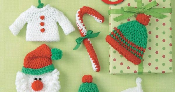 Free Knitting Pattern Toy Soldier : Ornaments to Crochet 3 Ways Ski hats, Toy soldiers and ...