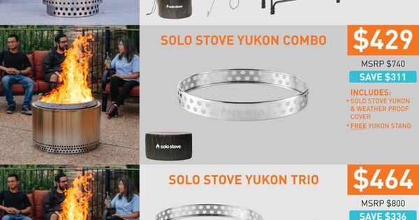 Solo Stove Yukon Ranger Innovative Fire Pits By Solo Stove Kickstarter