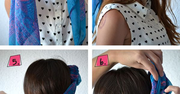 DIY Hairstyles With Hair Accessories 2014