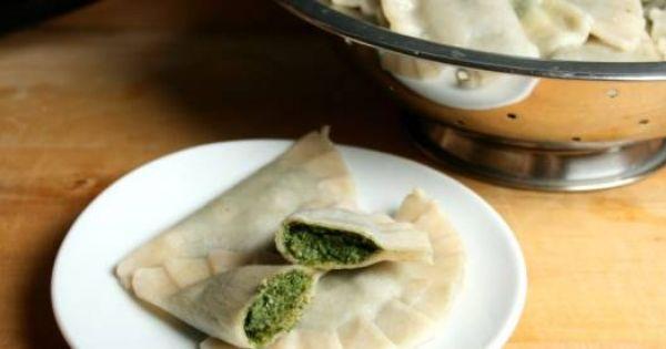 Przepis Na Pierogi Ze Szpinakiem Wg 5 Przemian Recipe Recipes Food Favorite Recipes