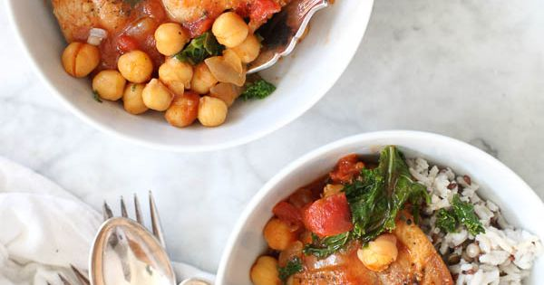 Braised chicken, Chickpeas and Kale on Pinterest
