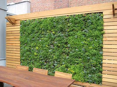 Vertikaler Garten Und Holz Ideen Und Mehr Www Ericclassen De Vertikaler Garten Garten Sichtschutz Garten