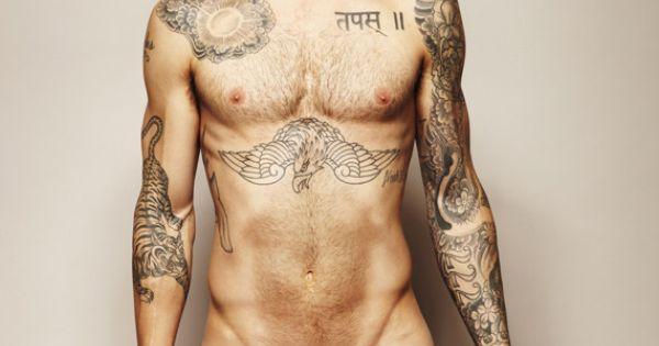 naked Adam Levine