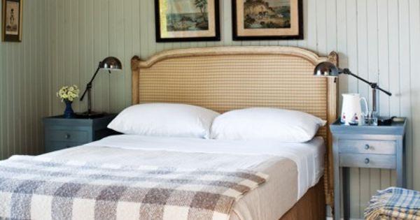 Une chambre champ tre d co pinterest champetre for Chambre champetre