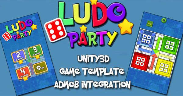Ludo Party Unity3d Source Code Admob Integrated Android Ios Supported Popular Board Game Coding Board Games For Two Strategy Board Games