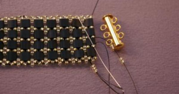 Fancy Tila Bead Bracelet Tutorial Bracelets Patterns