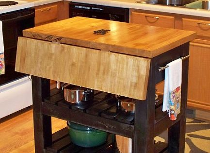 amazing kitchen island drop leaf | drop leaf butcher block kitchen island # ...