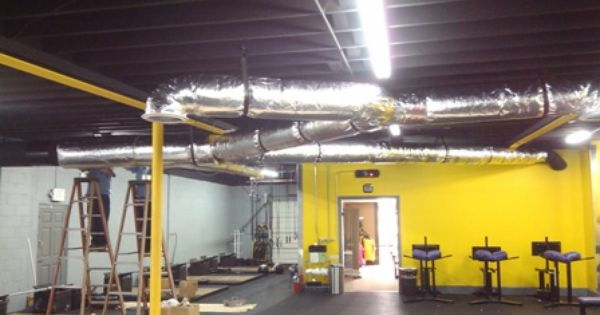 New Duct And Ventilation System June 12 2012 Greenville Sc
