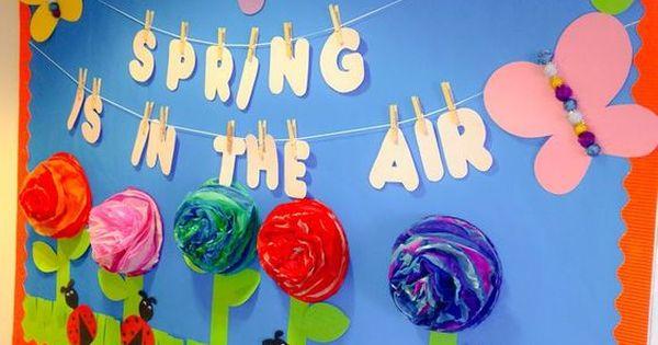 Periodico mural mes de abril 8 primavera pinterest for El mural de anuncios