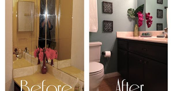 2perfection Decor Basement Coastal Bathroom Reveal: Bathroom Redo On A Budget