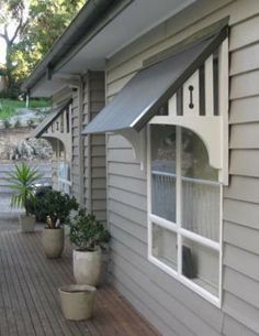 Free Plans For Building Wooden Window Awnings Window Awnings Windows Exterior Timber Windows
