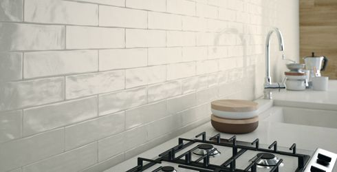 Studio 3 Handmade Subway Tile Textured Subway Tile White