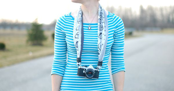DIY Scarf Camera Strap Tutorial at content.photojojo... camera scarf strap diy tutorial