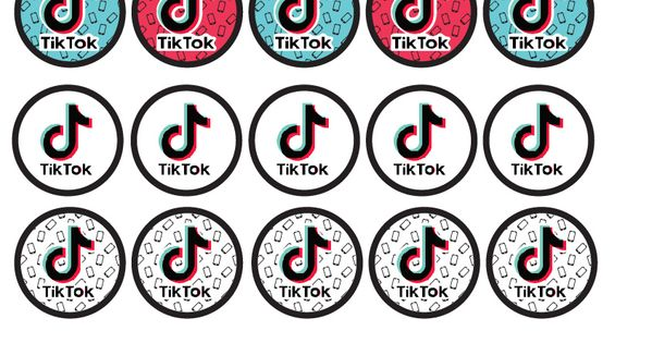 Download These Fun Free Tiktok Party Printables Cupcake Toppers Party Printables Free Birthday Party Printables Free Party Printables