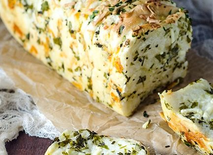 Garlic Herb and Cheese Pull Apart Bread Recipe cheese bread