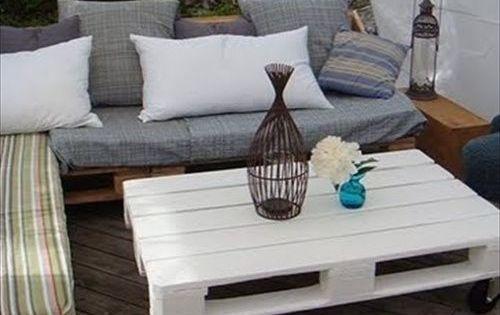 Chill out de palets our home pinterest palets sofa for Sofa exterior reciclado