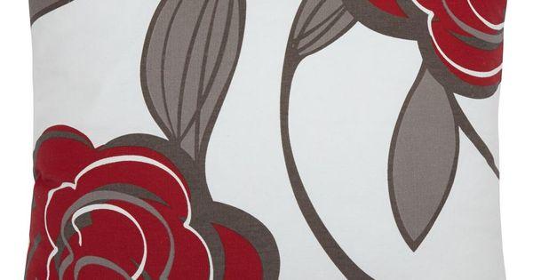 Alacri Collection - Floral Print Decorative Pillow/DECORATIVE PILLOWS/HOME ACCENTSBouclair.com ...