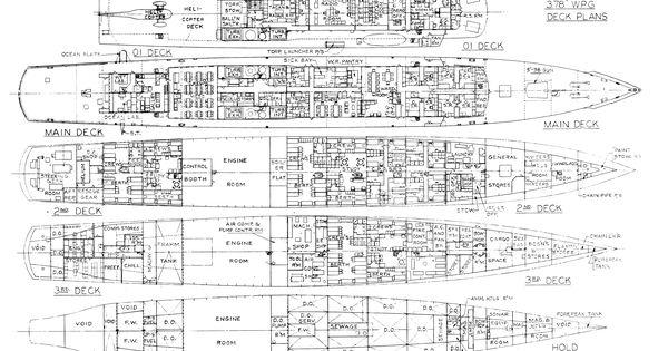 essex class aircraft carrier schematics