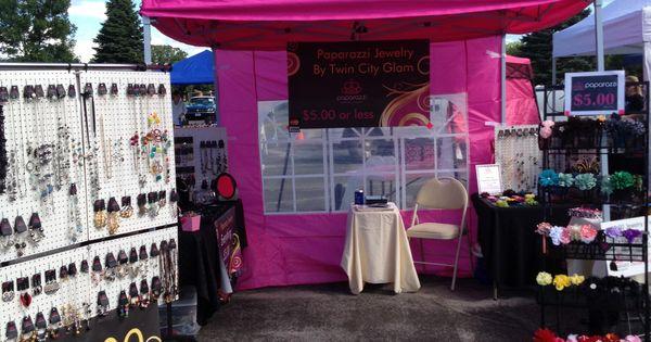Pink Tent Set Up Paparazzi Accessories Pinterest