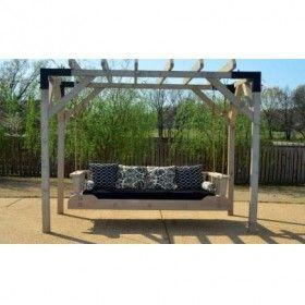 Sbo Hanging Daybed Arbor Stand Pergola Outdoor Pergola Pergola Swing